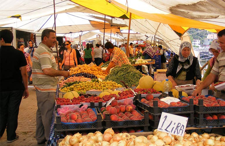 Patara Delfin Hotel - Fethiye Market
