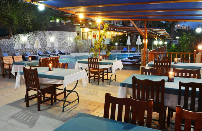 Our terrace of Delfin Hotel